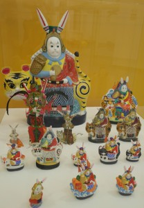 Игрушки на выставке