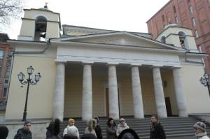 Католические храмы Москвы