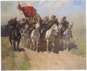 Митрофан Греков _Трубачи Первой Конной армии_
