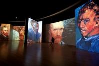 """""""Ван Гог. Ожившие полотна"""". Новая версия мультимедийной выставки."""
