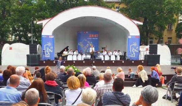 Фестиваль «Джаз в саду «Эрмитаж» - вход свободный.