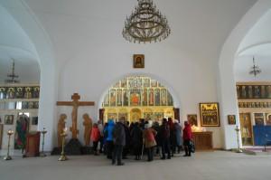 Экскурсия в Храме.