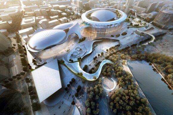 """Каким будет спорткомплекс """"Олимпийский"""" в 2022 году"""