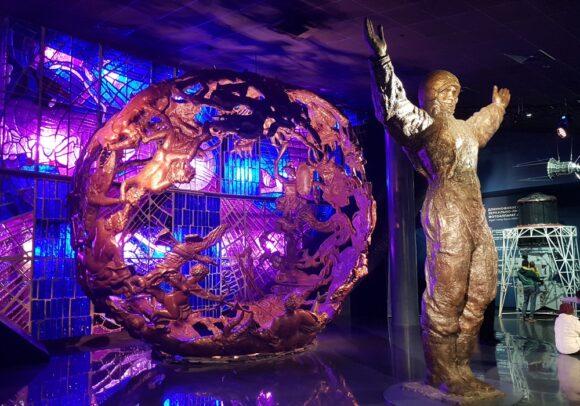Музей космонавтики в Москве у метро ВДНХ