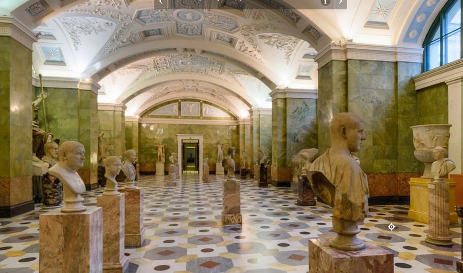 Государственный Эрмитаж : онлайн-экскурсии и веб-камеры