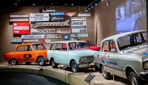 Музей транспорта на ВДНХ - выставка автомобилей в павильоне 26